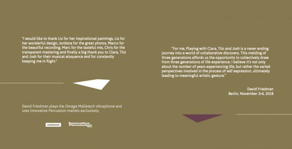 Booklet_Inside_Flight_David Friedman Generations Quartet