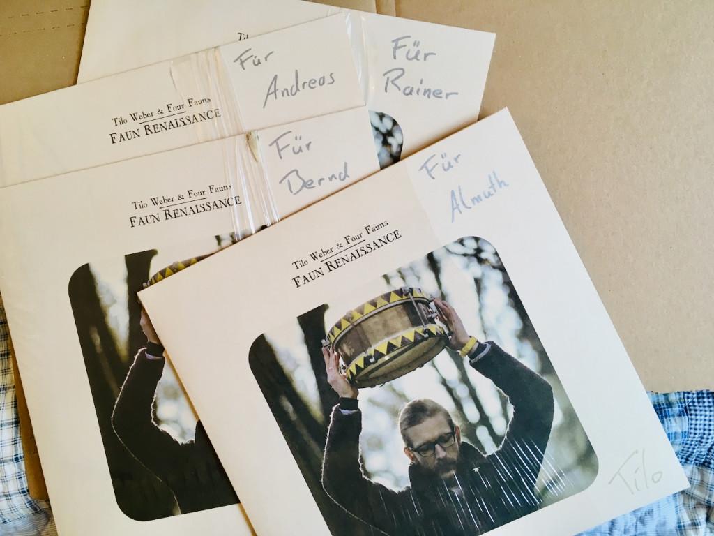 Tilo Weber signed LP Vinyl Faun Renaissance